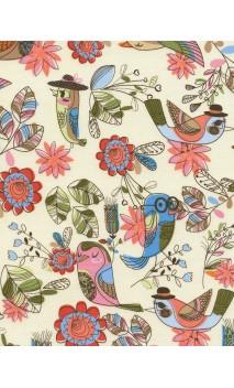Fun Birds,Timeless Treasures