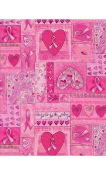 Pink Ribbon, Timeless Treasures