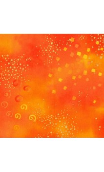Laurel Burch Basic Glitter, Orange