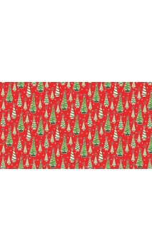 Christmas Retro Trees, Makower Uk