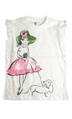 """""""Mädchen mit dem Hund"""" T-Shirt"""