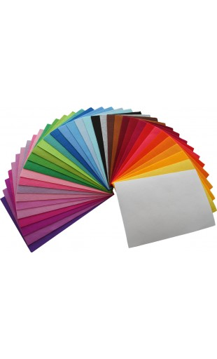 Bastelfilz, Uni-Filz Paket 35 Farben